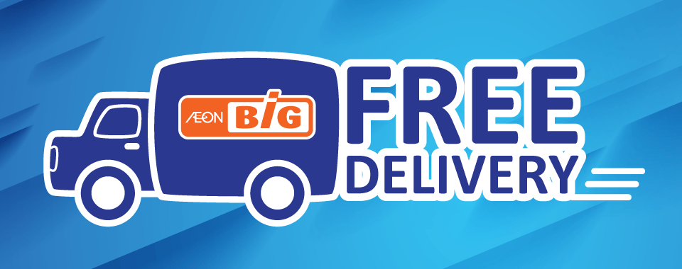 AEON BiG Free Deliver Service Header Banner