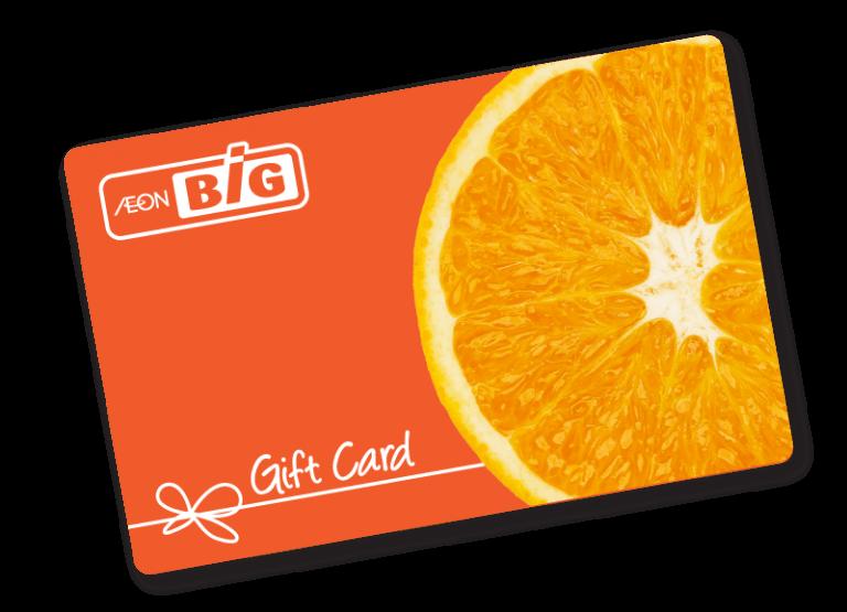 AEON BiG Corporate gift card