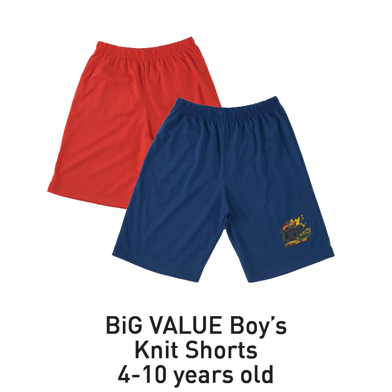 big value boy's knit shorts aeon big