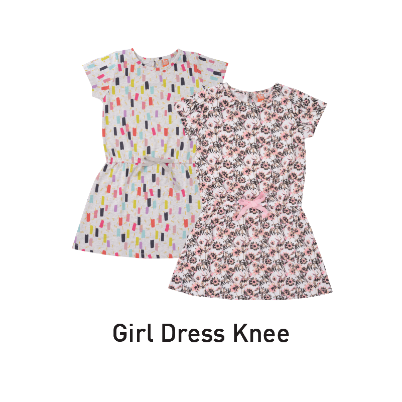 big value girl dress knee aeon big