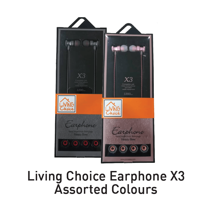 living choice earphone aeon big