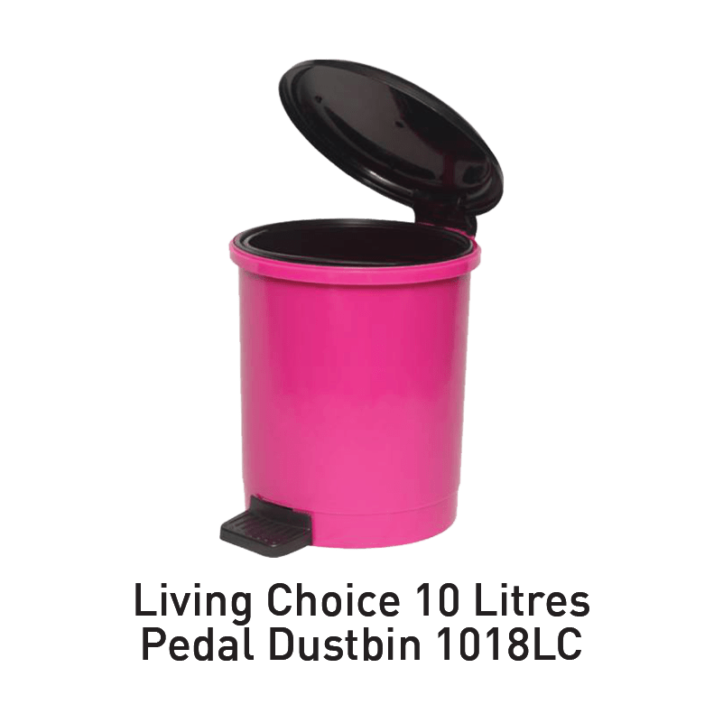 living choice pedal dustbin aeon big