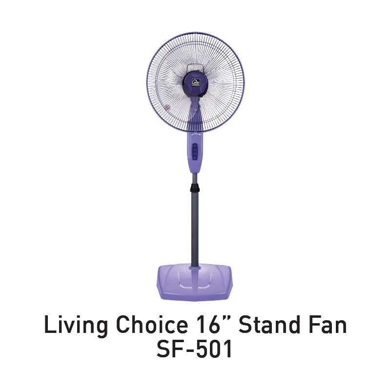 living choice stand fan aeon big